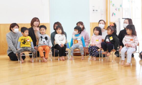 松島町児童館の遊びサポート